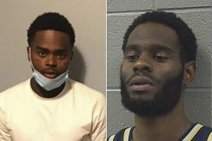 Jahquez Scott and Quintin Henderson, who allegedly agreed a plan to allow Scott to escape from Cook County Jail, Chicago