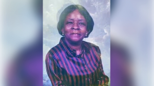 photograph of North Carolina grandmother Linda Ellis, 73, who is recovering in hospital after being shot in the leg by home intruders