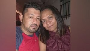 husband and wife shot dead in parking row