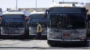 San Francisco bus yard