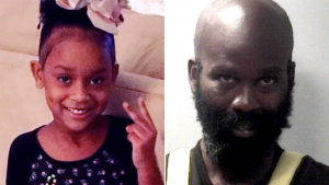 Laurionne Walker (left) and her alleged killer Raymeon Means (right)