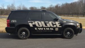 Ewing, NJ police car