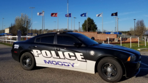 Moody Police car